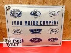 Blechschild - FORD Motor Company - 30x40cm