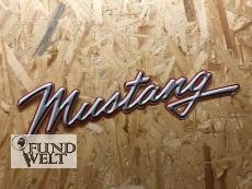 Ford Mustang Schriftzug - Metallschild