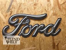 Ford Schriftzug - Metallschild