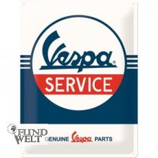 Blechschild - Vespa Service - 30x40cm