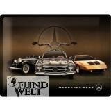 Blechschild - Mercedes benz Highlits - 30x40cm