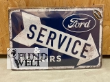 Blechschild - Ford - Service & Repair - 20x30cm