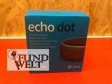Echo Dot (3.Gen.) Intelligenter Lautsprecher mit Alexa, Anthrazit Stoff - NEU