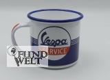 Vespa Service – Emaille Tasse