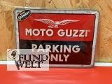 Blechschild - Moto Guzzi Parking Only - 15x20cm