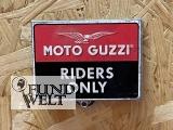 Moto Guzzi – Riders Only – Kühlschrankmagnet