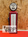 Thermometer Eisen Route-66 H.48x15cm