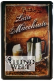 Blechschild - Latte Macchiato - 20x30cm