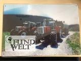 Blechschild - Steyr 8130 und Steyr 8180 - 20x30cm