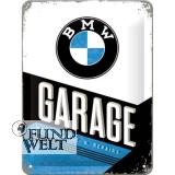Blechschild - BMW Garage - 15x20cm