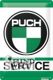 Puch Service - klassisches Werkstattschild