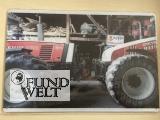 Blechschild - Steyr 8180 und 9145 Schnauze an Schnauze - 20x30cm
