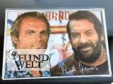 Blechschild - Bud Spencer und Terence Hill - 20x30cm