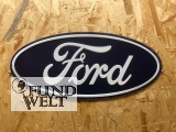 Ford Logo - Metallschild oval