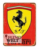 Blechschild - Ferrari - 20x30cm