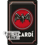 BACARDI Logo - Metallschild - 20x30cm