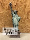 Wandschild (Gestanzt) Eisen Freiheitsstatue