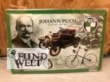 Blechschild - Johann Puch Jubiläumsschild - 20x30cm geprägt