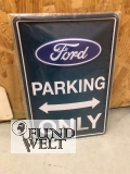 Blechschild - Ford Parking Only 20x30cm