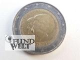 2 Euro Niederlande - 2013 - Thronwechsel Beatrix & Willem-Alexander - FEHLPRÄGUNG
