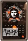 Blechschild - Che Guevara Kalender - 20x30cm