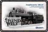 Blechschild - Dampflokomotive 180.01 - 20x30cm