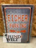Blechschild - Eicher Parking Only - 20x30cm
