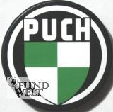 Puch Logo rund - Kühlschrankmagnet